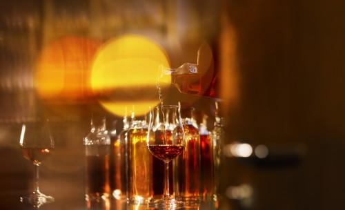Les Visites Hennessy -  Tasting aera ©Jeff Burton