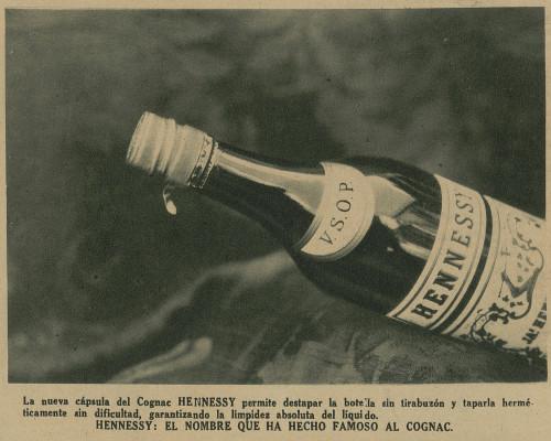Hennessy VSOP historic advert from Venezuela