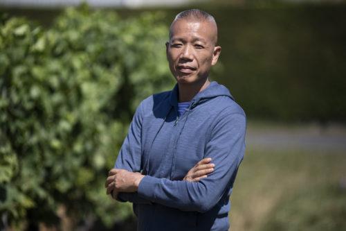 Cai Guo-Qiang portrait in Cognac